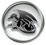 Zodiac icon grey Royalty Free Stock Photography