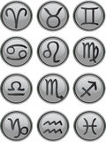 Zodiac Icon Set Stock Photography