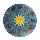 Zodiac isolated. Zodiac with sun isolated included clipping path stock image
