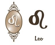Zodiac - Leo Fotografia de Stock Royalty Free