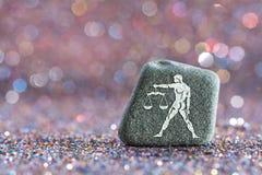 Zodiac Libra σημάδι στοκ εικόνα με δικαίωμα ελεύθερης χρήσης