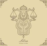 Zodiac Libra Στοκ φωτογραφία με δικαίωμα ελεύθερης χρήσης