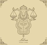Zodiac Libra Royalty Free Stock Photo