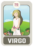 Zodiac man : Virgo Royalty Free Stock Images