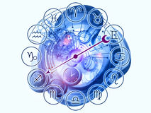 Zodiac mechanics Royalty Free Stock Photo