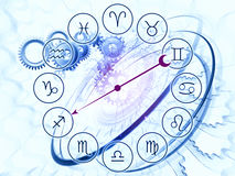 Zodiac mechanics Stock Photos