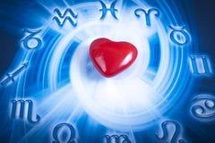 Zodiac och förälskelse Royaltyfria Bilder