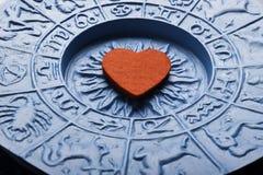 Zodiac och förälskelse Royaltyfri Bild