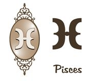 Zodiac - Pisces Stock Image