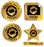 Zodiac - Pisces Stock Photos