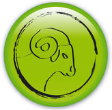 Zodiac-Ram Stock Images