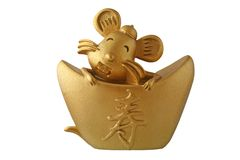 Zodiac rat Royalty Free Stock Photography