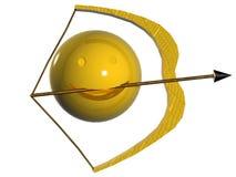 zodiac sagittarius Στοκ φωτογραφία με δικαίωμα ελεύθερης χρήσης