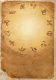 Zodiac series. Horoscope zodiac star signs in the circle Royalty Free Stock Photo