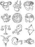 Zodiac stock illustration