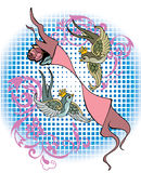 Zodiac sign Stock Images