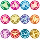 Zodiac sign Stock Image