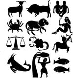 Zodiac sign. Vector illustration of zodiac sign Stock Photo