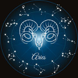 Zodiac sign aries Stock Photo
