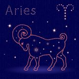 Zodiac sign Aries Royalty Free Stock Photo
