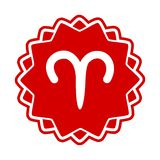 Zodiac sign Aries Stock Photo