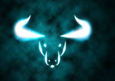 Zodiac Sign Bull royalty free stock image