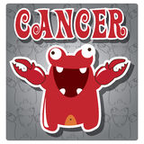 Zodiac sign Cancer Royalty Free Stock Image