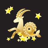 Zodiac sign - Capricorn. Royalty Free Stock Images
