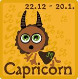 Zodiac Sign - Capricorn Stock Images