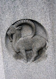 Zodiac sign of Capricorn. royalty free stock photos