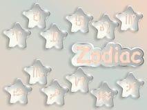 Zodiac sign cartoon vector illustration. Stock Photography