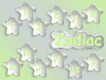 Zodiac sign cartoon vector illustration. Royalty Free Stock Images