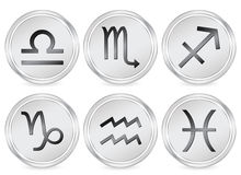 Zodiac sign circle icon 2 Stock Photo