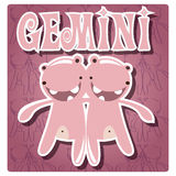 Zodiac sign Gemini Stock Photos