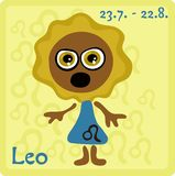 Zodiac Sign - Leo Stock Photo