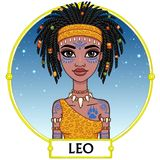 Zodiac sign Leo. Stock Images