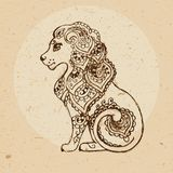 Zodiac sign - Leo Stock Photography
