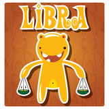 Zodiac sign Libra Stock Photography