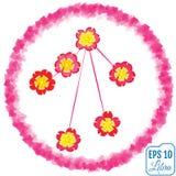 Zodiac sign Libra. Primrose concept. Flowers concept. Constellat Royalty Free Stock Photo