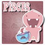 Zodiac sign Pisces Royalty Free Stock Images