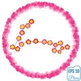 Zodiac sign Pisces. Primrose concept. Flowers concept. Constella Stock Photo