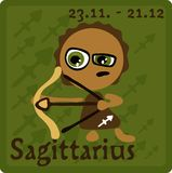 Zodiac Sign - Sagittarius Stock Photography