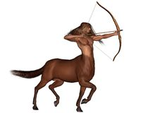 Zodiac sign - Sagittarius the archer Stock Photo