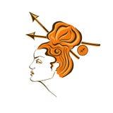 Zodiac sign of Sagittarius Stock Image