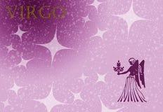 Zodiac sign virgo Stock Image