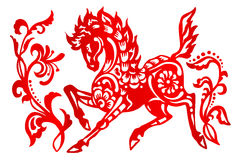 Zodiac Sign for Year of Horse Royalty Free Stock Photography