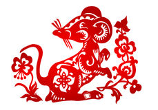 Zodiac Sign for Year of Rat Stock Photography