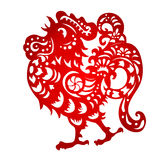 Zodiac Sign for Year of Rooster Stock Images