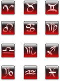 Zodiac signs Stock Photography