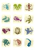 Zodiac. 12 signs from of the zodiac vector illustration
